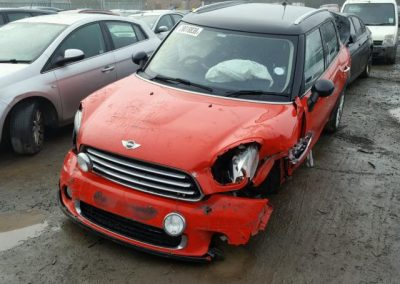 BMW MINI R60 COUNTRYMAN RED 1.6D, BREAKING FOR PARTS