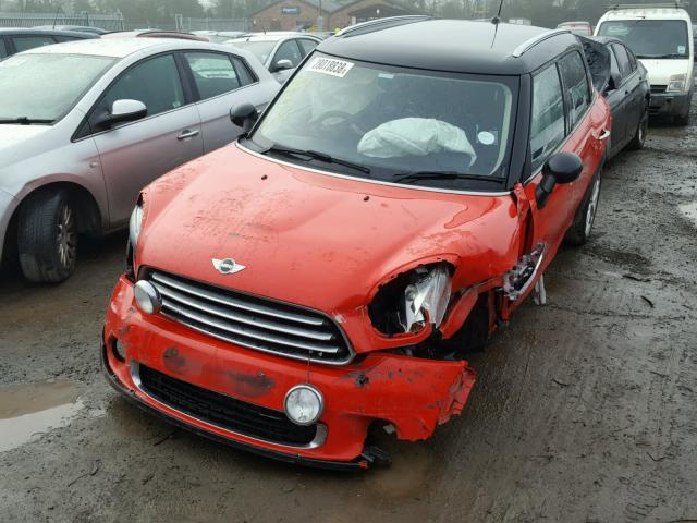 Bmw Mini R60 Countryman Red 16d Breaking For Parts Mintech