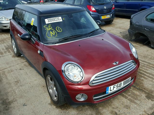 BMW MINI R55 CLUBMAN RED BREAKING FOR PARTS