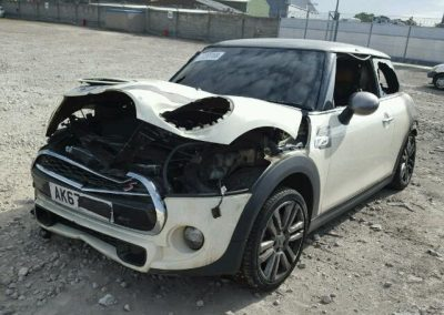 BMW MINI 2017 F56 COOPER S DIESEL WHITE BREAKING FOR PARTS
