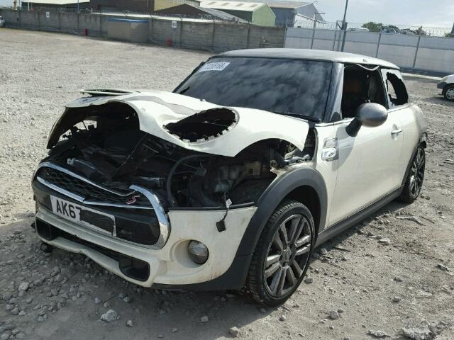 Bmw Mini 2017 F56 Cooper S Diesel White Breaking For Parts Mintech