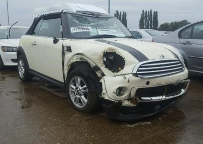 BMW MINI 2012 R57 ONE CONVERTIBLE BREAKING FOR PARTS