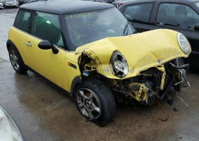 BMW MINI 2005 R50 COOPER 1.6 5 SPEED MANUAL LIQUID YELLOW BREAKING FOR PARTS