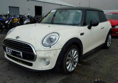 BMW MINI 2016 COOPER 1.5 PETROL PEPPER WHITE BREAKING FOR PARTS