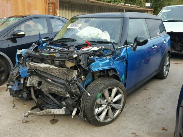 BMW MINI 2010 LCI R55 COOPER S CLUBMAN PETROL LASER BLUE BREAKING FOR PARTS