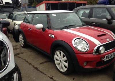 BMW MINI 2006 R56 COOPER S CHILLI RED BREAKING FOR PARTS