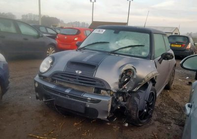 BMW MINI 2006 R53 COOPER S 1.6 6 SPEED MANUAL DARK SILVER BREAKING FOR PARTS