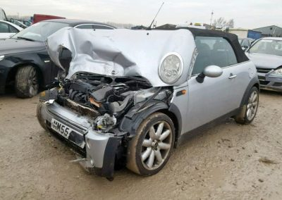 BMW MINI 2006 R52 COOPER 1.6 5 SPEED MANUAL ABSOLUTE SILVER BREAKING FOR PARTS