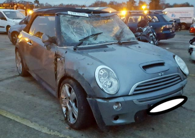 BMW MINI 2006 R52 COOPER S 1.6 6 SPEED MANUAL DARK SILVER BREAKING FOR PARTS