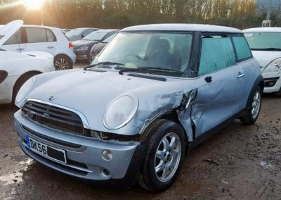 BMW MINI 2006 R50 ONE SEVEN 1.6 5 SPEED MANUAL ABSOLUTE SILVER BREAKING FOR PARTS