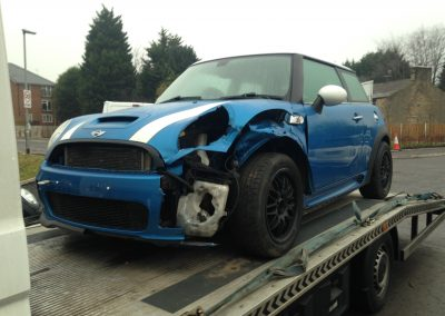 BMW MINI 2007 R56 COOPER S 1.6 6 SPEED MANUAL LASER BLUE BREAKING FOR PARTS