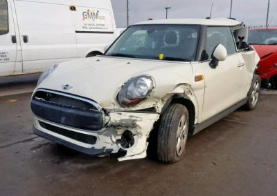 BMW MINI 2017 F56 ONE 1.2 6 SPEED MANUAL PEPPER WHITE BREAKING FOR PARTS