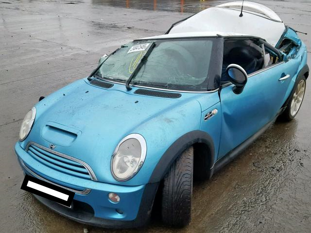 Bmw Mini 2003 R53 Cooper S 16 6 Speed Manual Electric Blue Breaking