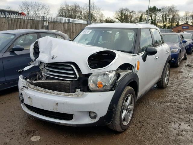 BMW MINI 2011 R60 COUNTRYMAN COOPER D DIESEL 1.6 6 SPEED MANUAL LIGHT WHITE BREAKING FOR PARTS