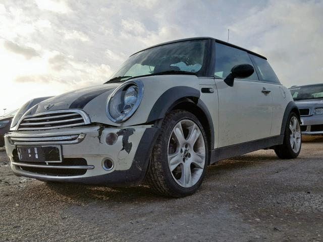 BMW MINI 2005 R50 COOPER 1.6 5 SPEED MANUAL PEPPER WHITE BREAKING FOR PARTS
