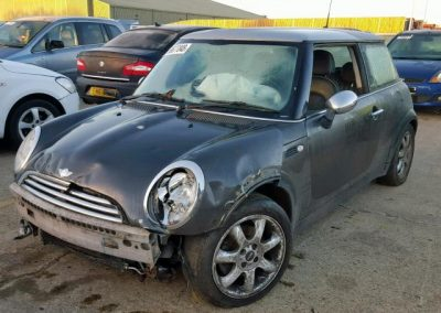 BMW MINI 2006 (55) R50 COOPER PARK LANE 1.6 5 SPEED MANUAL ROYAL GREY BREAKING FOR PARTS