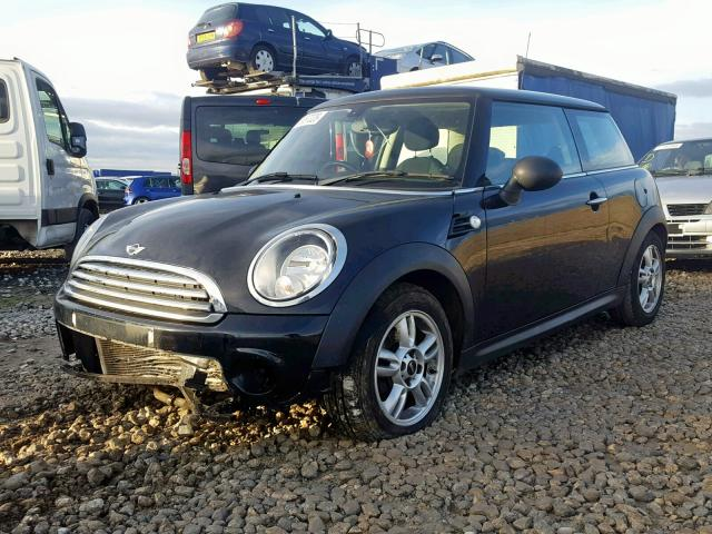 BMW MINI 2012 R56 ONE 1.6 6 SPEED MANUAL MIDNIGHT BLACK BREAKING FOR PARTS