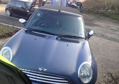 BMW MINI 2005 R52 ONE 1.6 5 SPEED MANUAL COOL BLUE BREAKING FOR PARTS