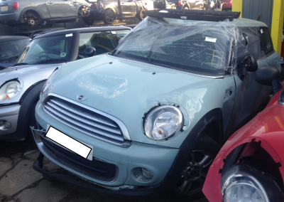 BMW MINI 2013 R56 LCI ONE 1.6 6 SPEED MANUAL KITE BLUE BREAKING FOR PARTS