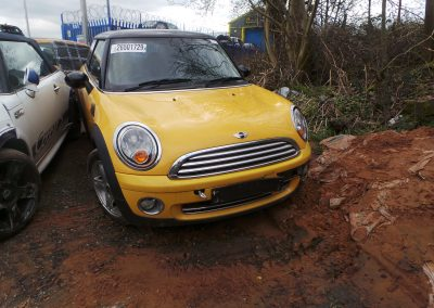 BMW MINI 2007 R56 COOPER 1.6 6 SPEED MANUAL MELLOW YELLOW BREAKING FOR PARTS