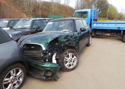 BMW MINI 2012 R56 LCI COOPER 1.6 6 SPEED MANUAL BRITISH RACING GREEN METALLIC BREAKING FOR PARTS