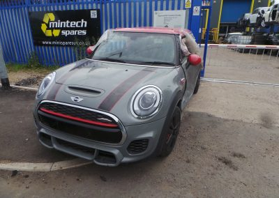 BMW MINI 2017 F56 JCW JOHN COOPER WORKS 2.0 6 SPEED MANUAL MOONWALK GREY METALLIC BREAKING FOR PARTS