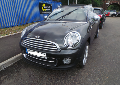BMW MINI 2013 R59 COOPER ROADSTER 1.6 6 SPEED MANUAL ECLIPSE GREY METALLIC METALLIC BREAKING FOR PARTS. REFERENCE CAR NO. 1286