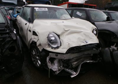BMW MINI 2014 F56 COOPER 1.5 AUTOMATIC PEPPER WHITE BREAKING FOR PARTS. REFERENCE CAR NO. 1445