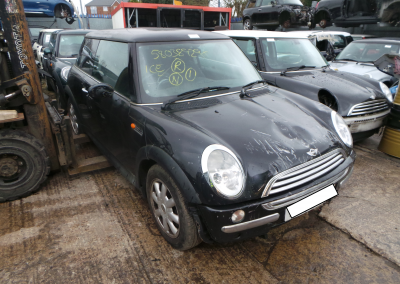 BMW MINI 2003 R50 ONE D DIESEL 1.4 5 SPEED MANUAL SWARTZ FOR PARTS. REFERENCE CAR NO. 1457.