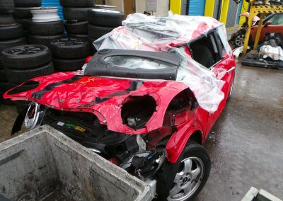 BMW MINI 2010 R56 ONE 1.6 6 SPEED MANUAL CHILI RED BREAKING FOR PARTS. REFERENCE CAR NO. 1448.