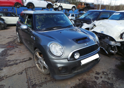 BMW MINI 2007 R55 CLUBMAN COOPER S 1.6 6 SPEED MANUAL DARK SILVER BREAKING FOR PARTS. REFERENCE CAR NO. 1548.